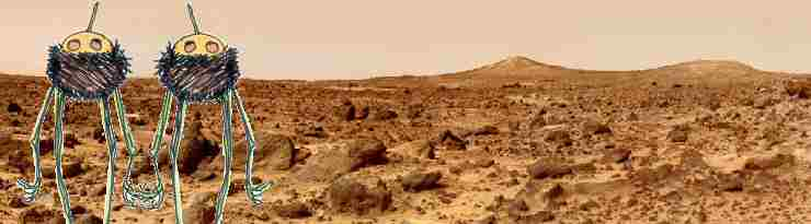 """Week-end sur Mars""  copyright Li-An (2004)"