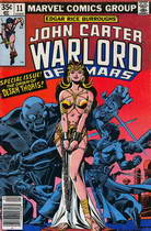John Carter n°11- Marvel (avril 1978)