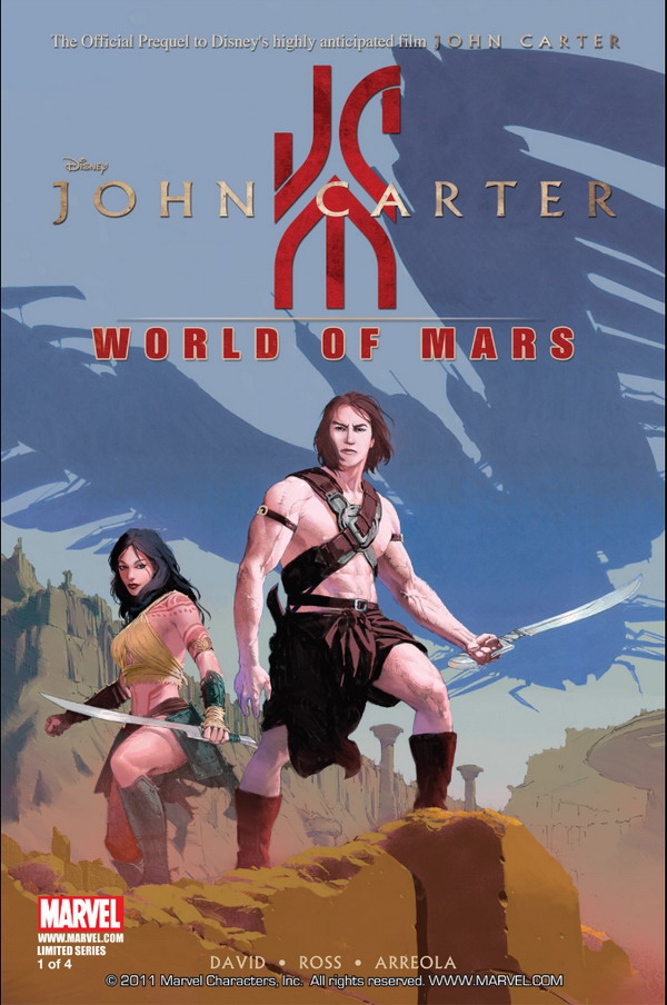 John Carter: World of Mars #1 (2011)