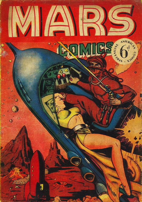 édition anglaise du Planet Comics US n°17 (1953)